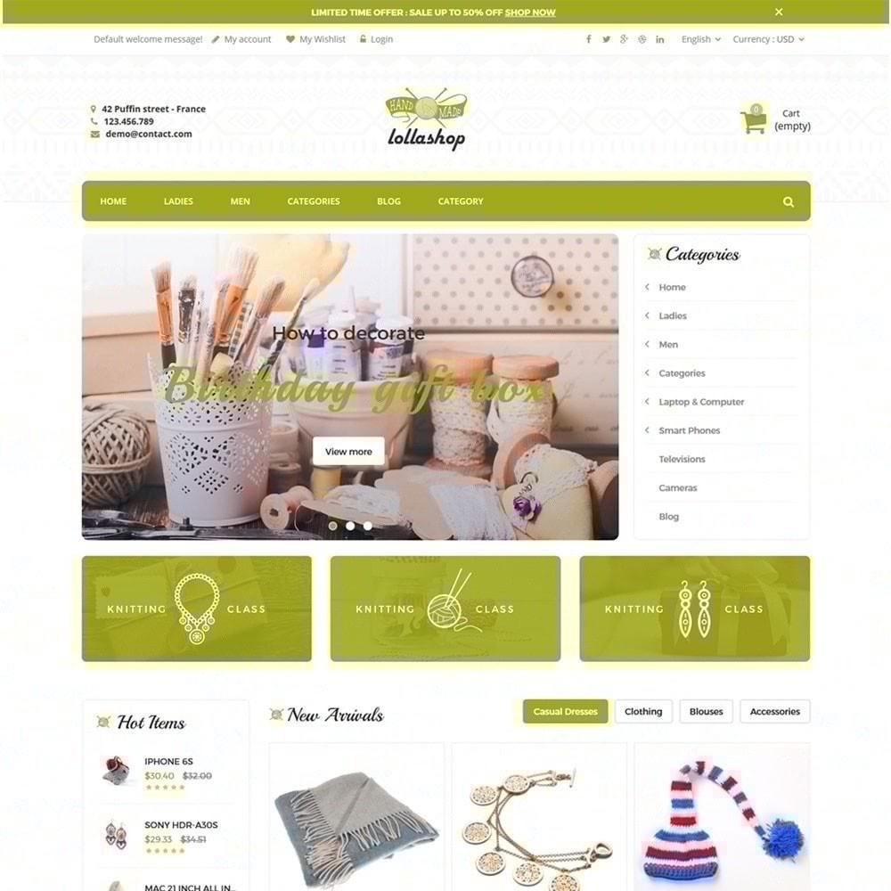 theme - Prezenty, Kwiaty & Uroczystości - Lolla Giftshop Handmade - 2