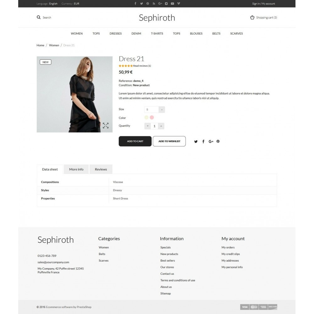 theme - Fashion & Shoes - Sephiroth  Women's Clothing - 7