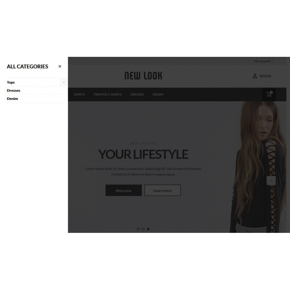 theme - Mode & Schuhe - New look  Fashion Store - 5