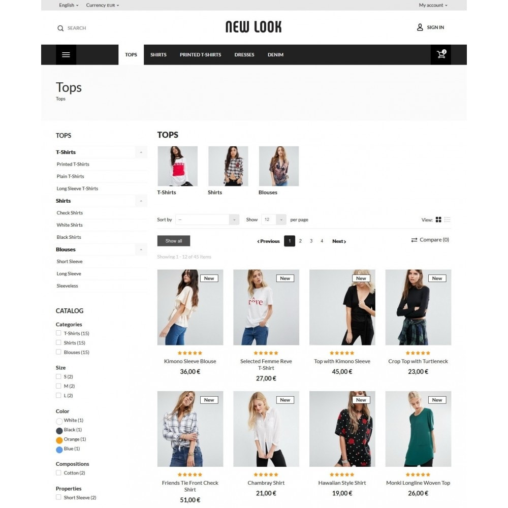 theme - Mode & Schoenen - New look  Fashion Store - 6