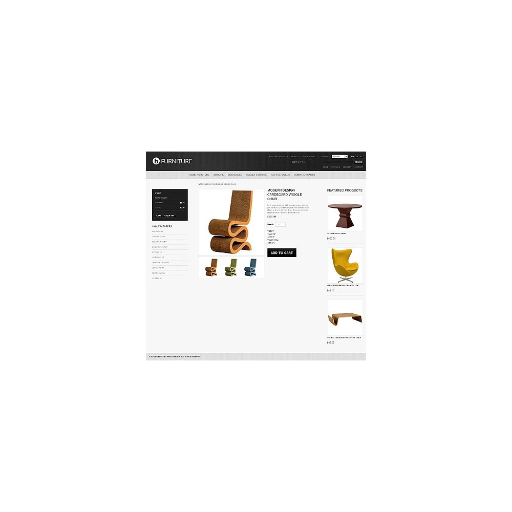 theme - Template PrestaShop - Furniture for Any Premises - 2