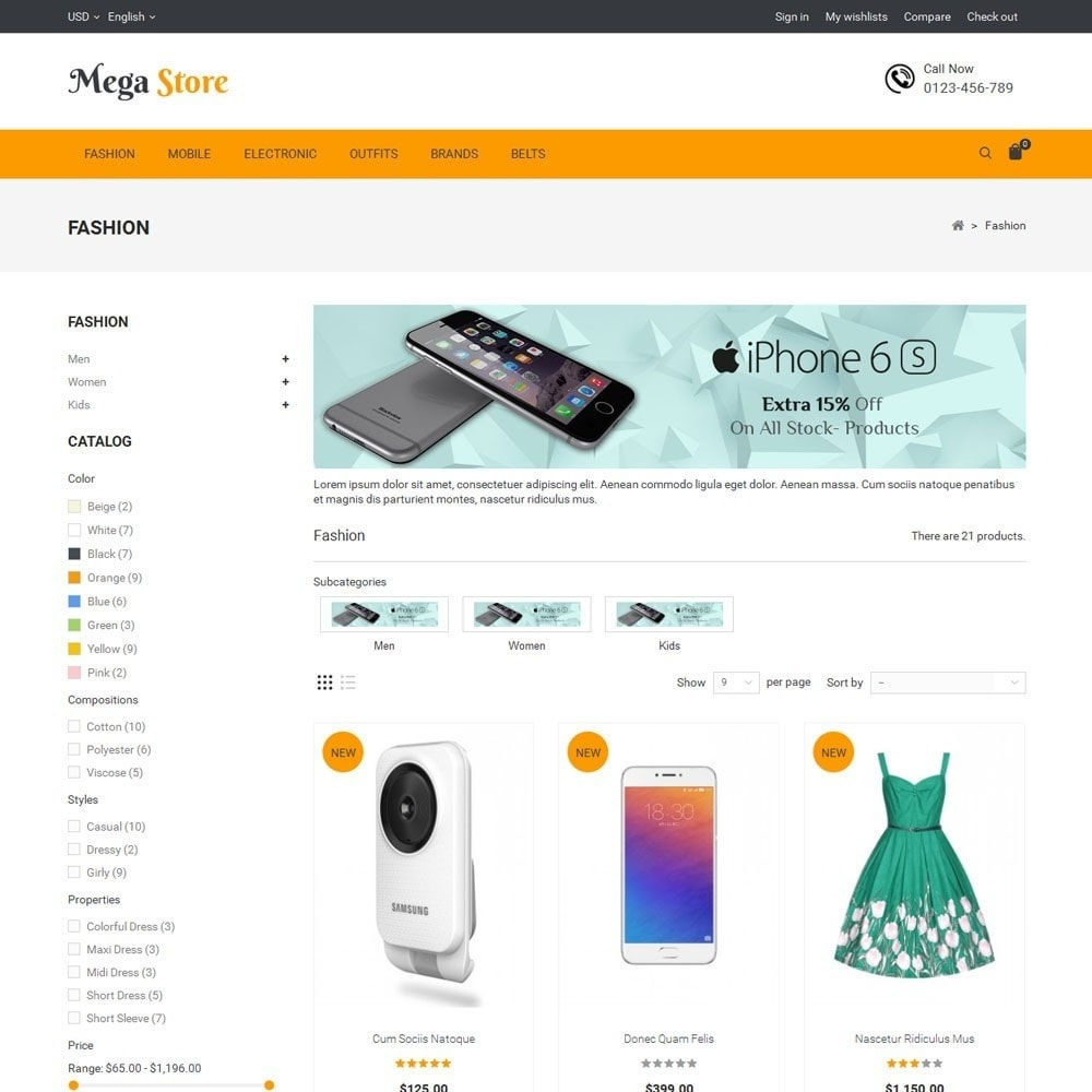 theme - Elettronica & High Tech - Mega Store - 3