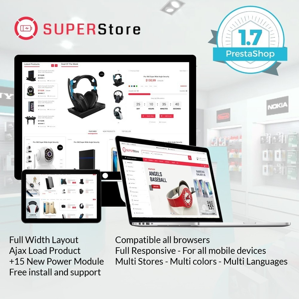 theme - Elettronica & High Tech - Super Store Electronic - 1