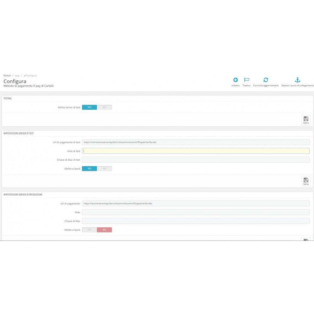 module - Pagamento con Carta di Credito o Wallet - Pos CartaSi X-Pay - QuiPago Keyclient - Avanzato - 1