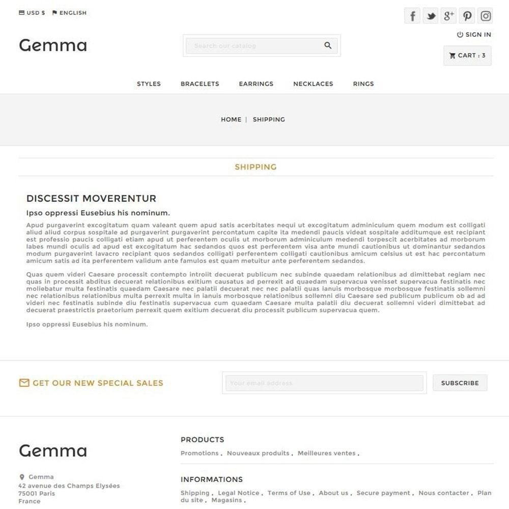 theme - Bijoux & Accessoires - Gemma - 6