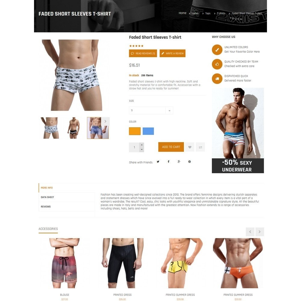 theme - Lingerie & Adult - Nocommando Men's Underwear - 7