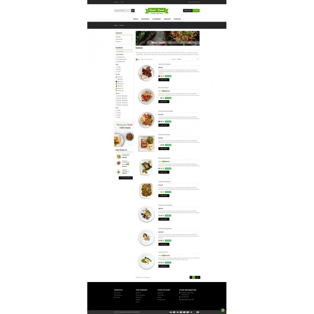 theme - Lebensmittel & Restaurants - Best Real Food Store - 4