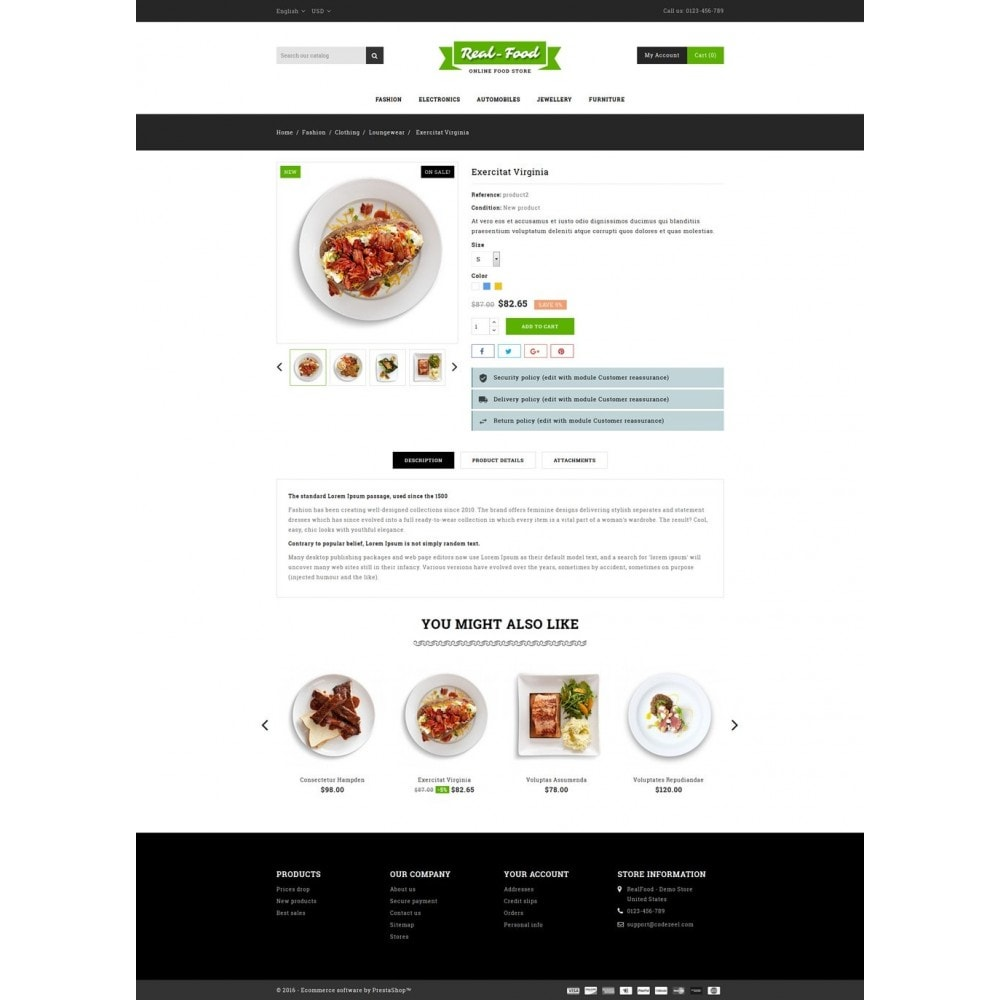theme - Alimentation & Restauration - Best Real Food Store - 5