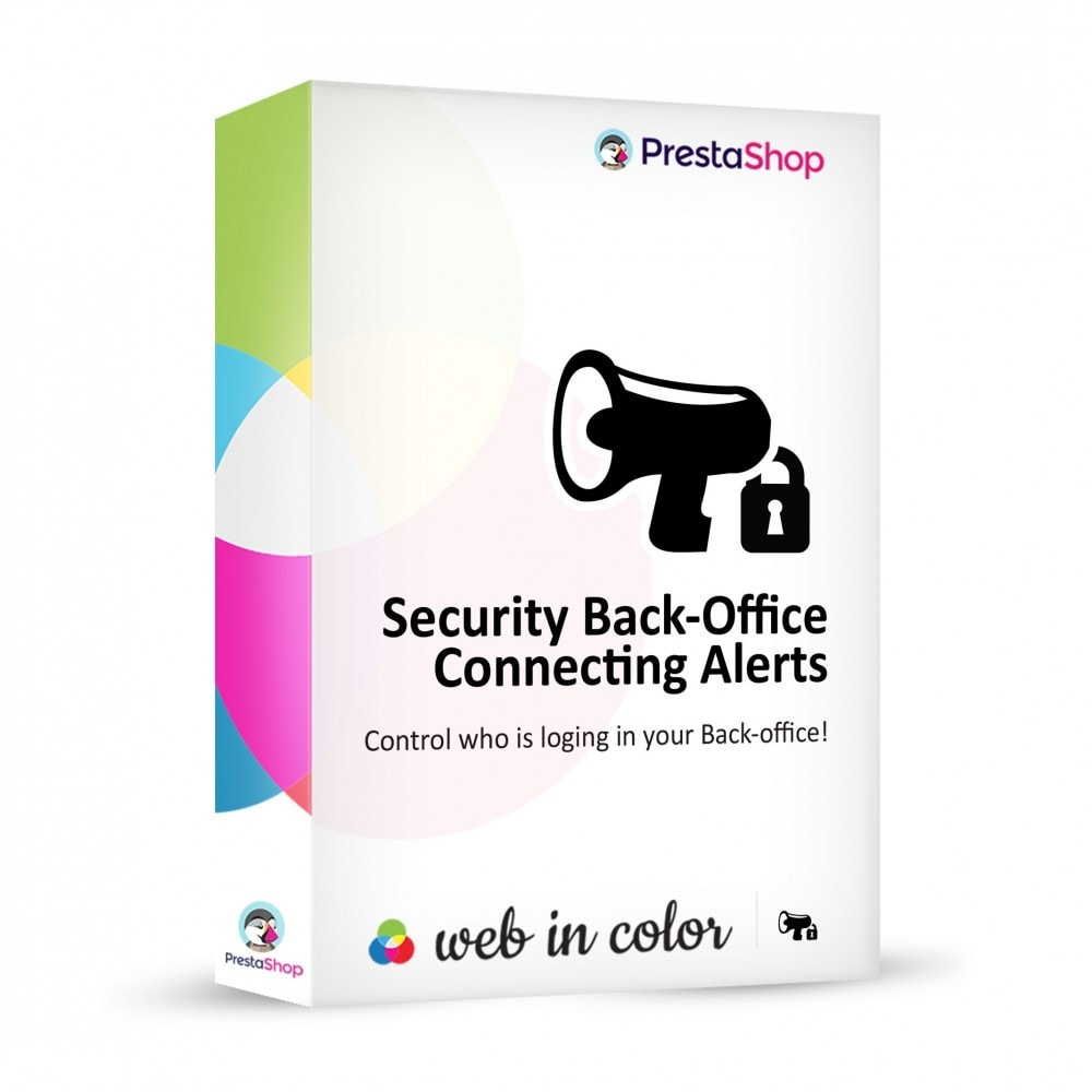 module - Sicherheit & Brechtigungen - Back-Office security connection alerts - 1
