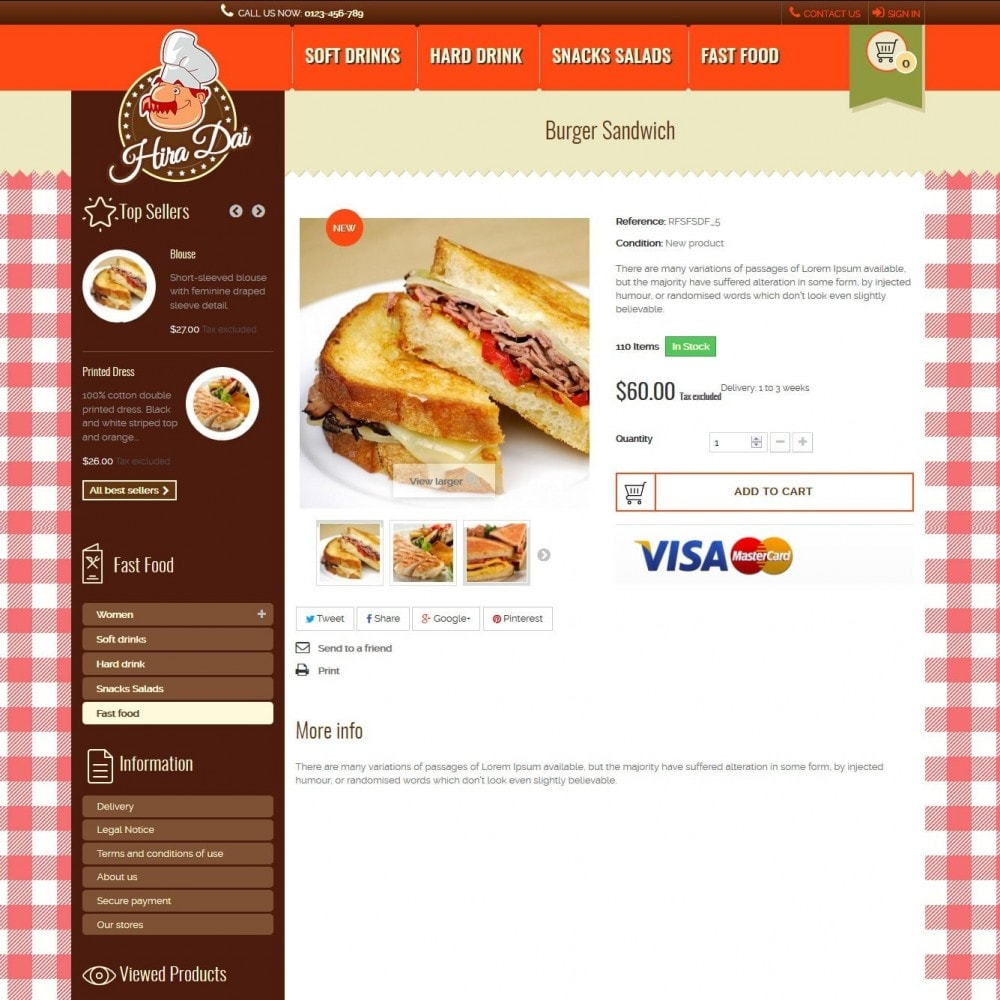 theme - Alimentos & Restaurantes - hiradai - 5