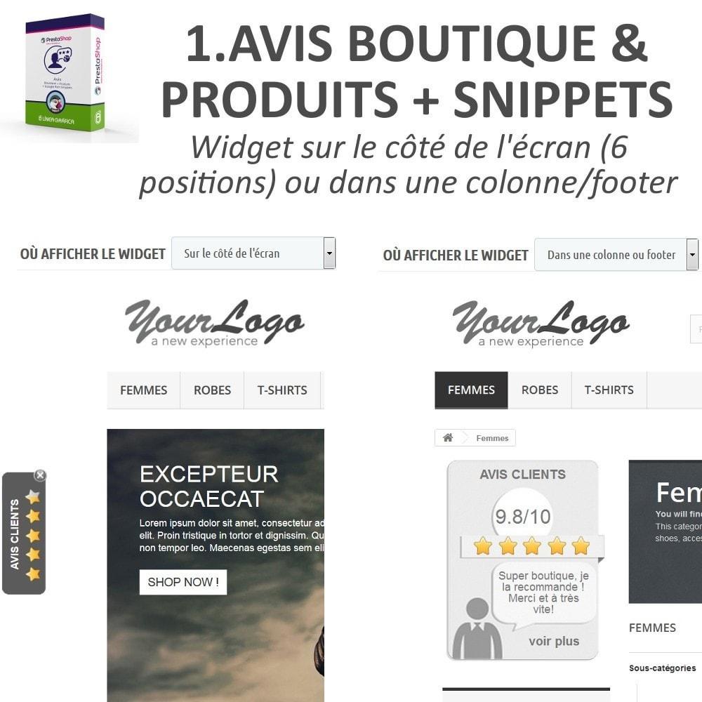 bundle - Avis clients - Confiance - Rassurez vos Clients - 3 Modules - 2