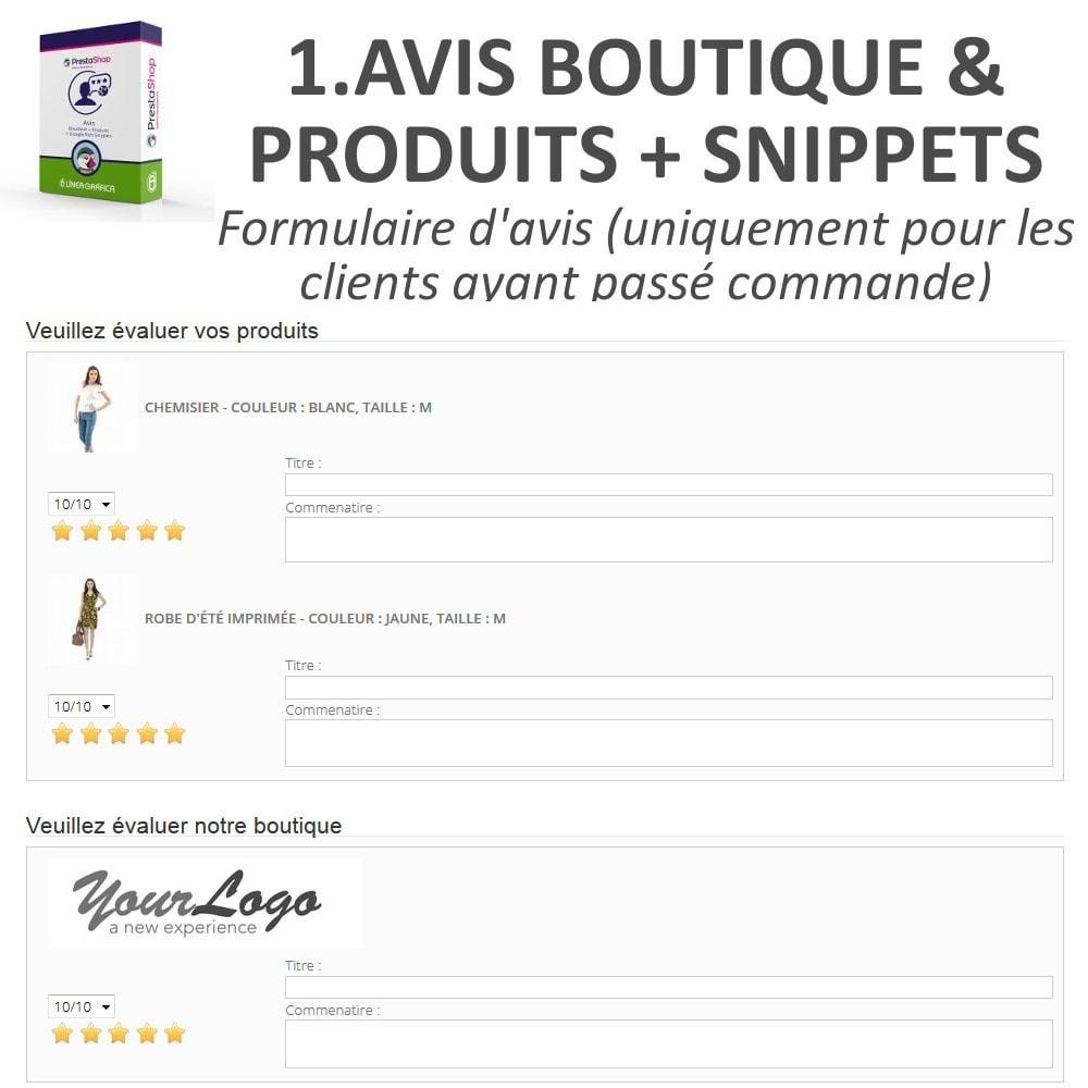 bundle - Avis clients - Confiance - Rassurez vos Clients - 3 Modules - 10