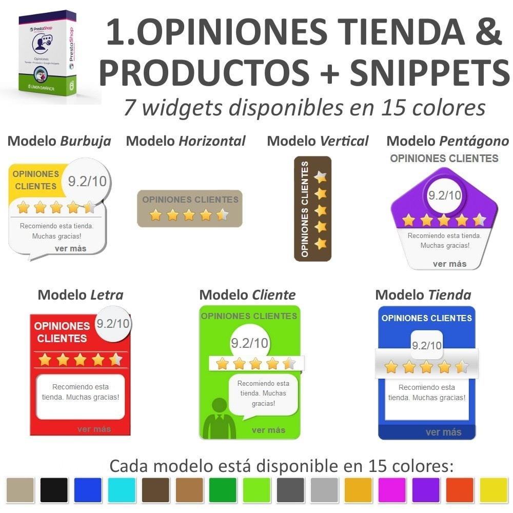 bundle - Comentarios de clientes - Confianza - Tranquiliza a tus Clientes - 3 Módulos - 3