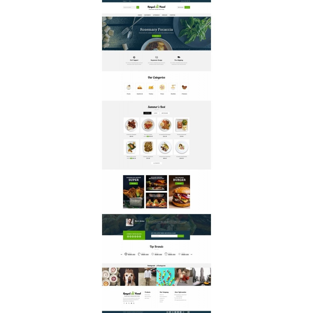 theme - Eten & Restaurant - Food and Restaurant Store - 2
