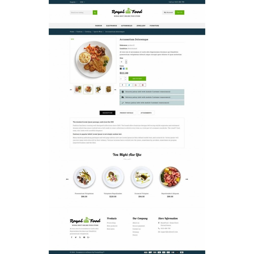 theme - Alimentos & Restaurantes - Food and Restaurant Store - 5