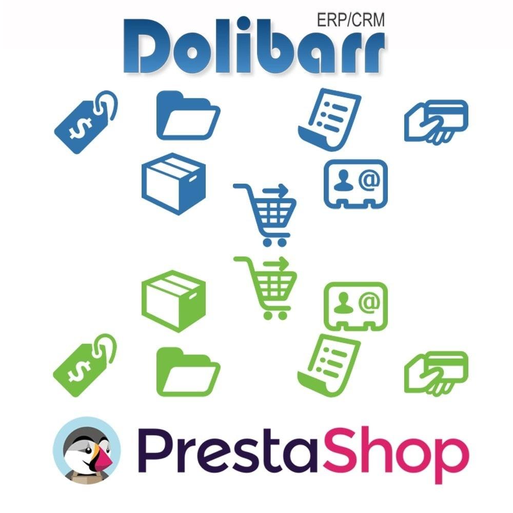 module - Connexion à un logiciel tiers (CRM, ERP...) - Synchronisation Dolibarr ERP/CRM vers Prestashop - 1