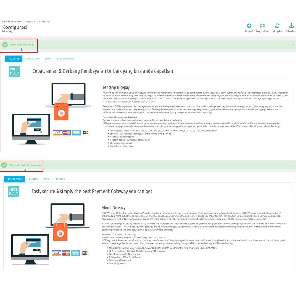 module - Pagamento con Carta di Credito o Wallet - Nicepay - 4