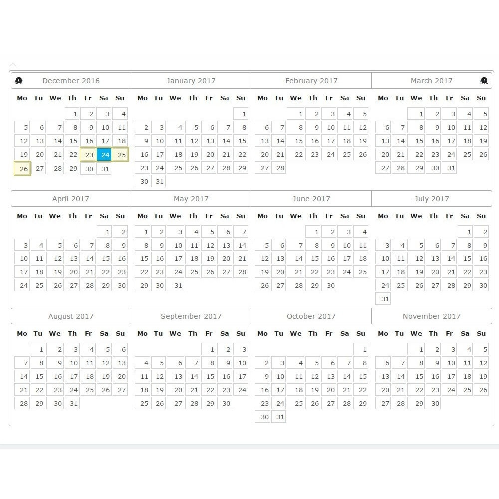 module - Reservation & Rental System - Booking Calendar - 3