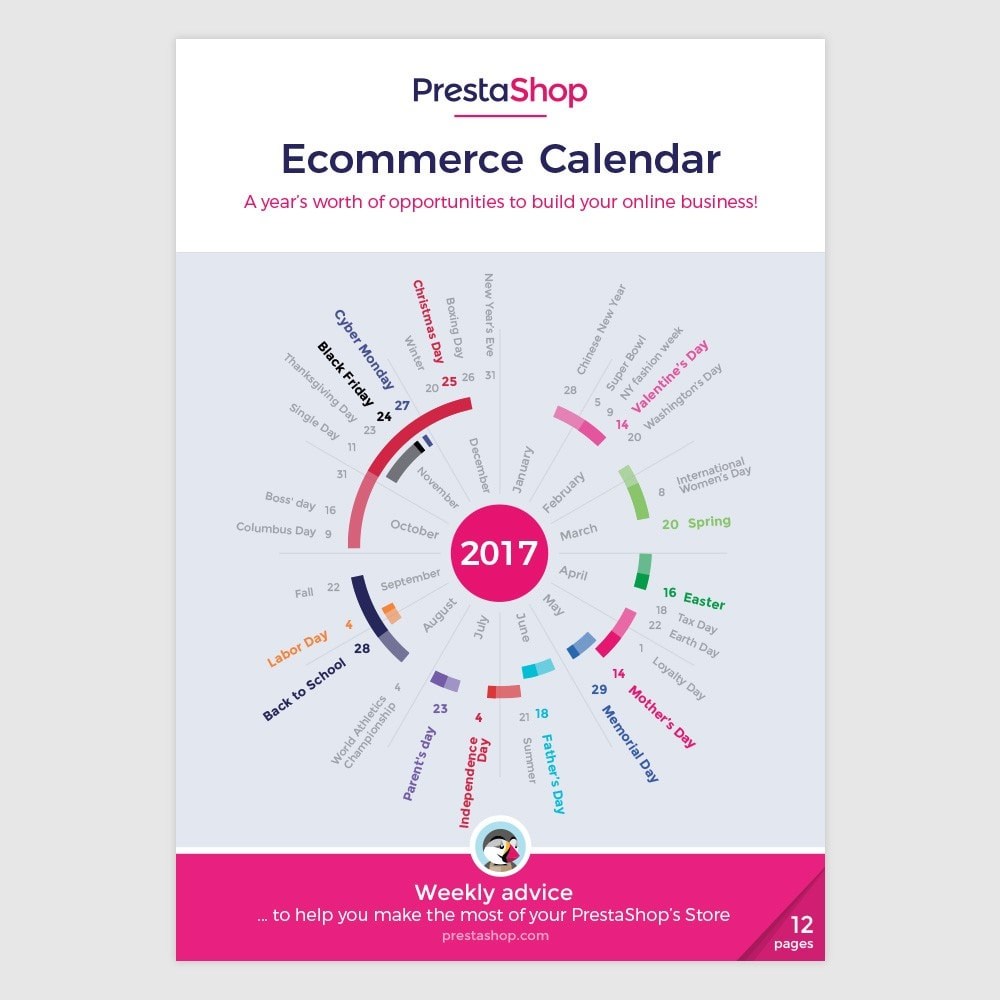 other - Calendario eCommerce - Calendario eCommerce 2017 USA - 1