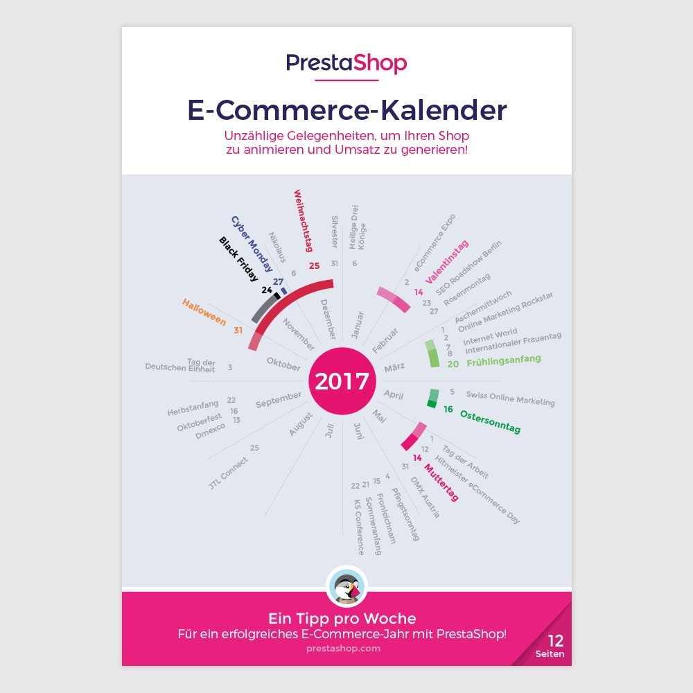 other - Kalender e-commerce - Germany 2017 eCommerce Calendar - 1