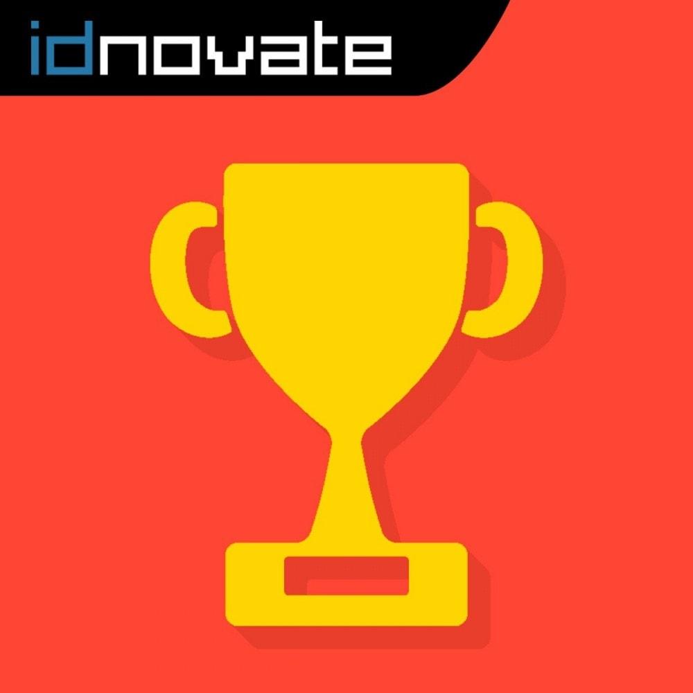 module - Programa de Fidelidad - Puntos de Fidelidad - Programa de puntos y recompensa - 1