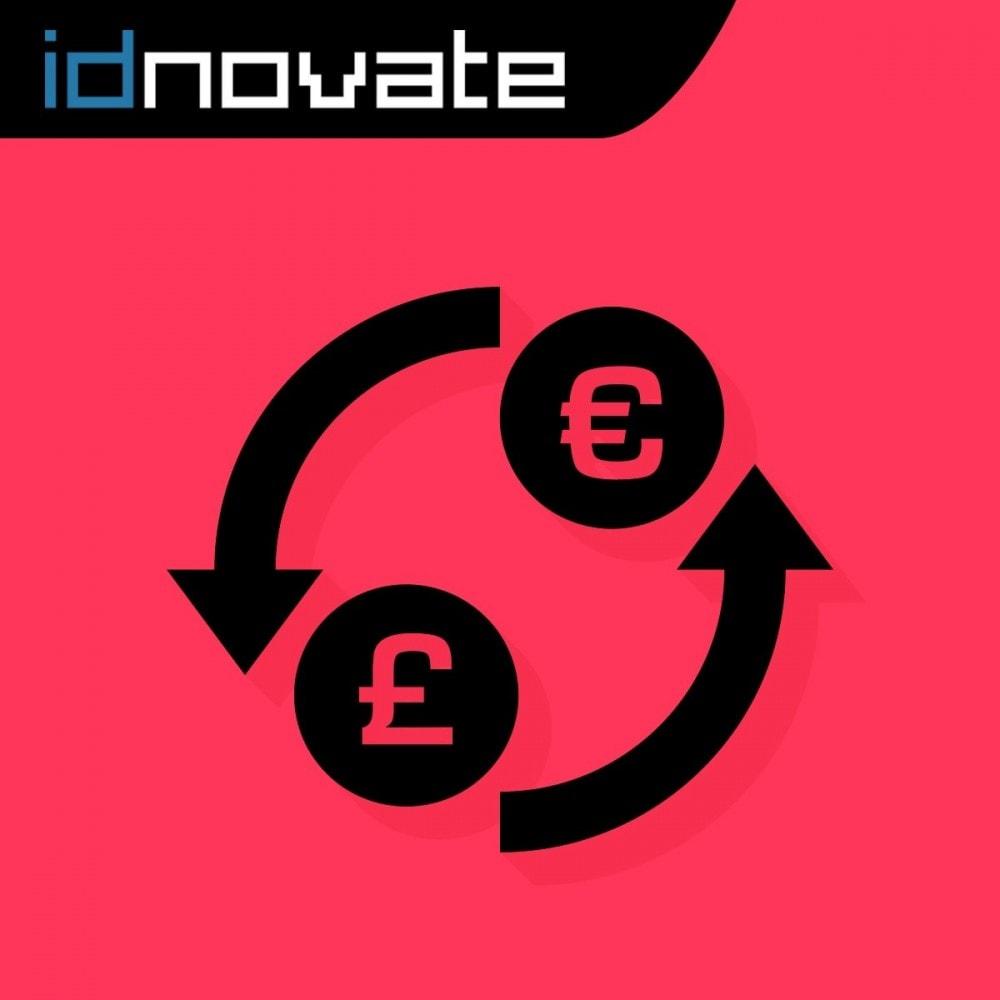 module - Inscripción y Proceso del pedido - Fuerza la moneda en el carrito - 1