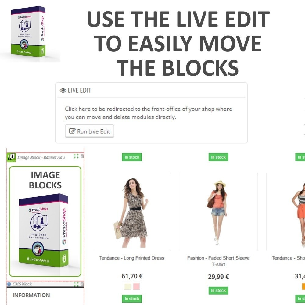 module - Blocchi, Schede & Banner - Image Blocks - Banner Ads - 6