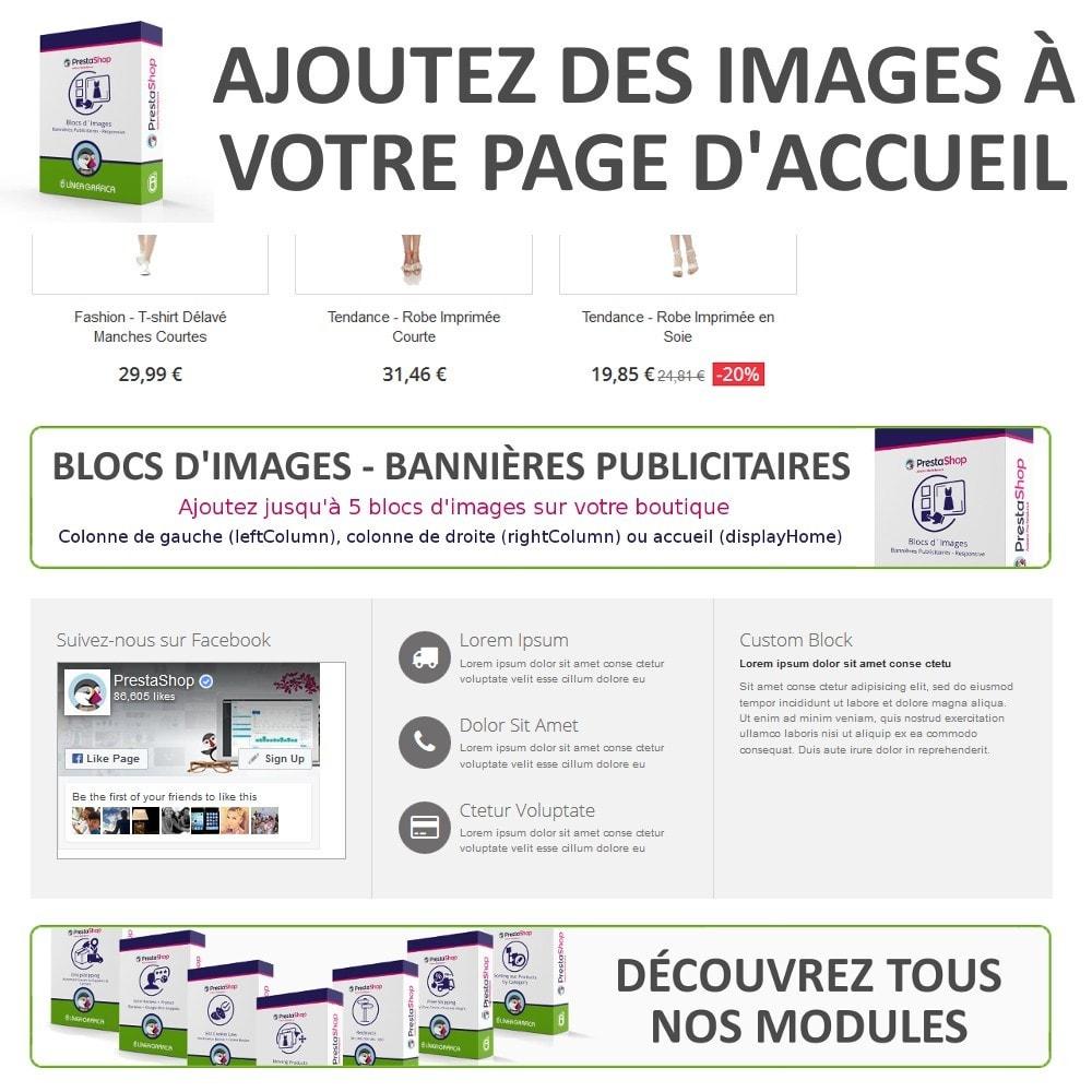module - Blocs, Onglets & Bannières - Blocs d´Images - Bannières Publicitaires - 3