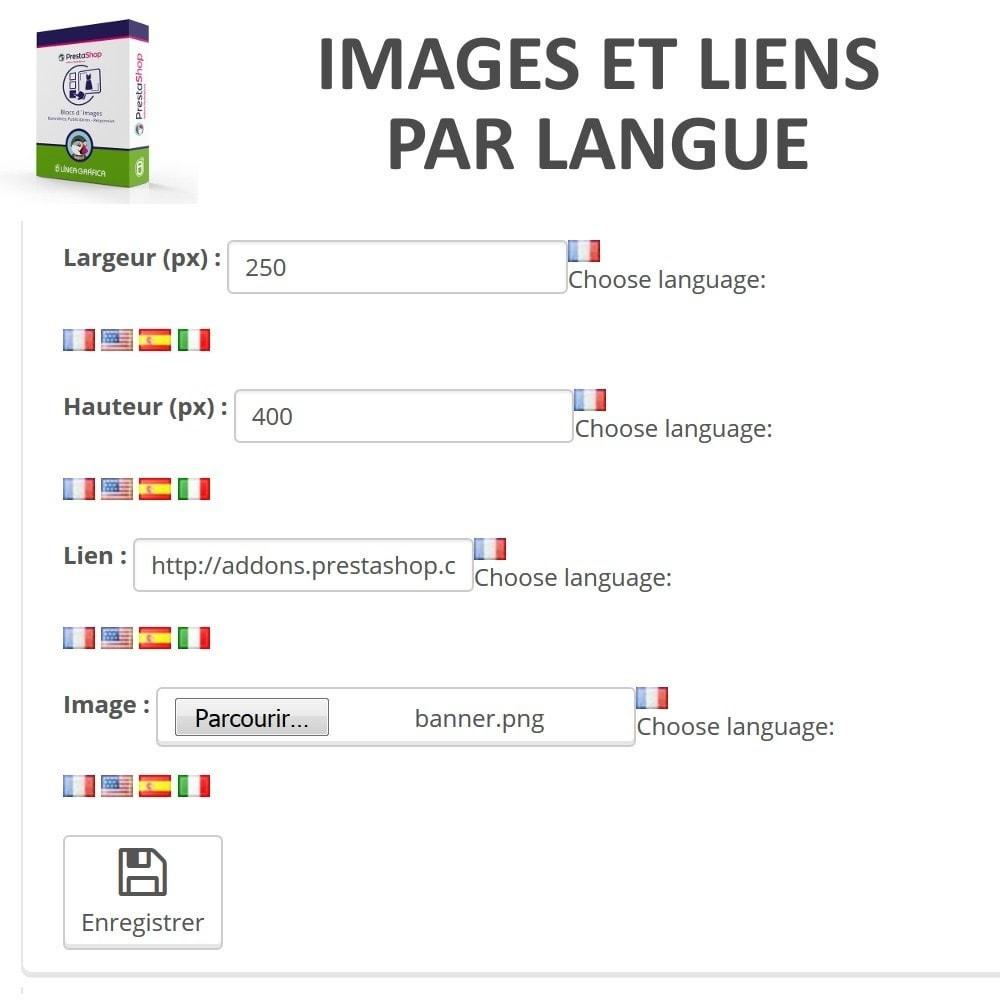 module - Blocs, Onglets & Bannières - Blocs d´Images - Bannières Publicitaires - 5