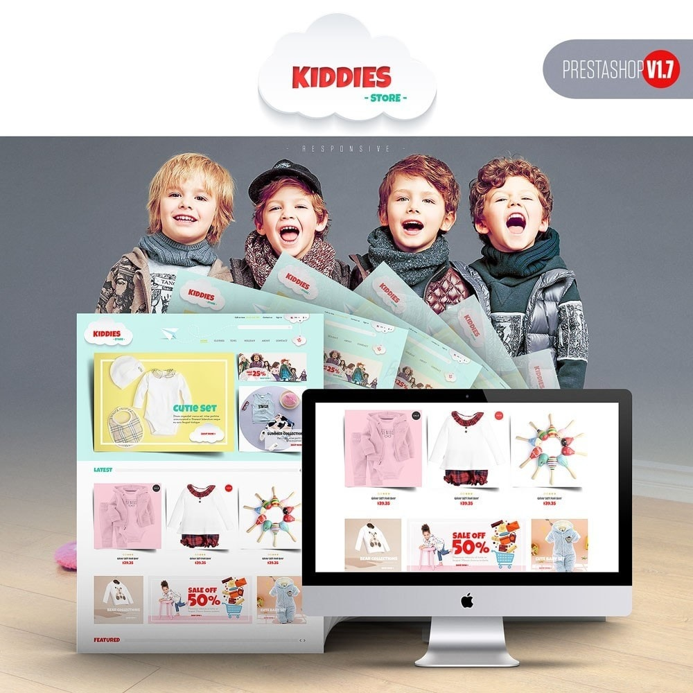 theme - Enfants & Jouets - Kiddies Store - 1