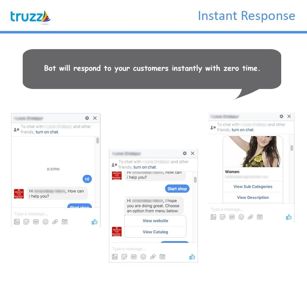 module - Wsparcie & Czat online - Chat Bot for Social Networking - 2