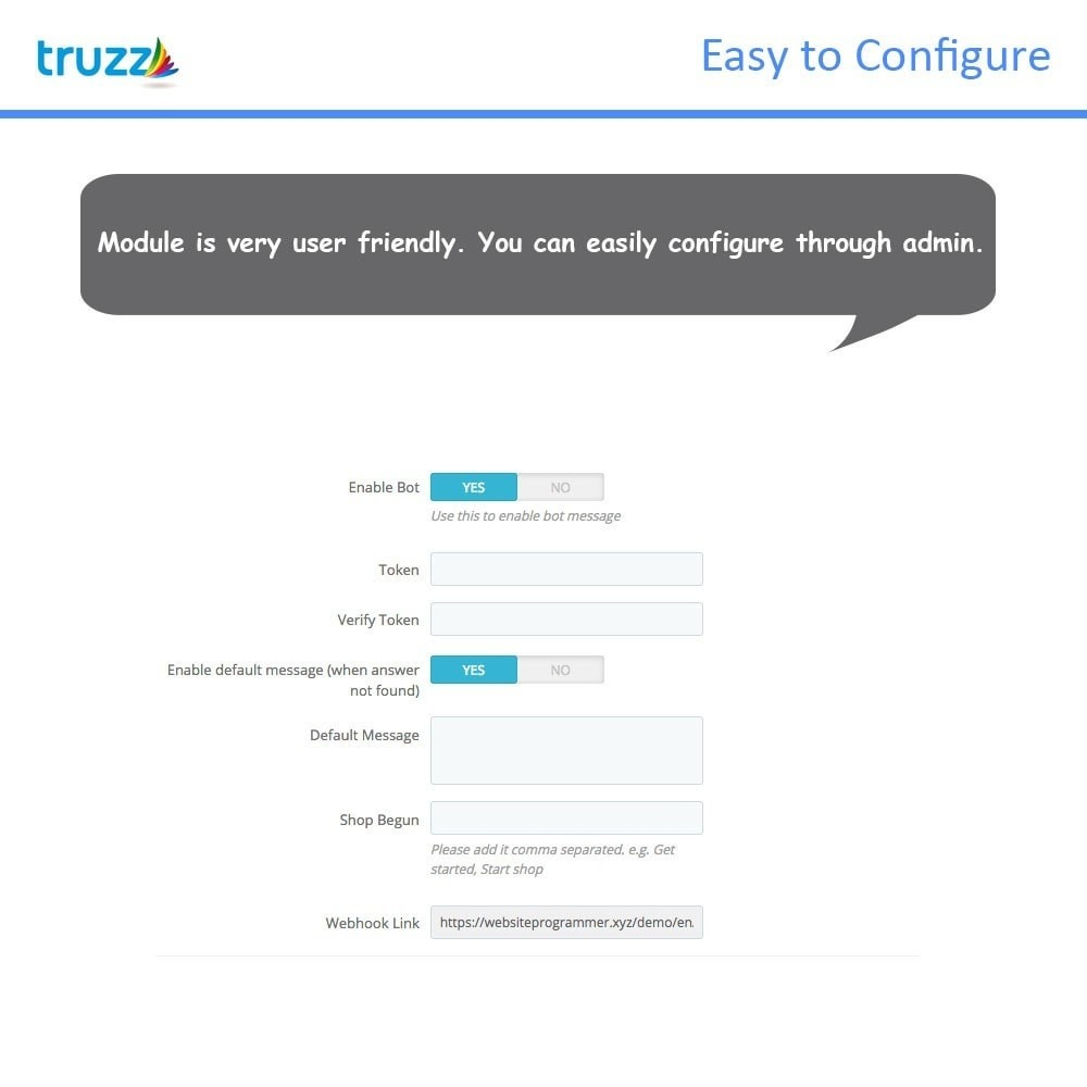module - Wsparcie & Czat online - Chat Bot for Social Networking - 3