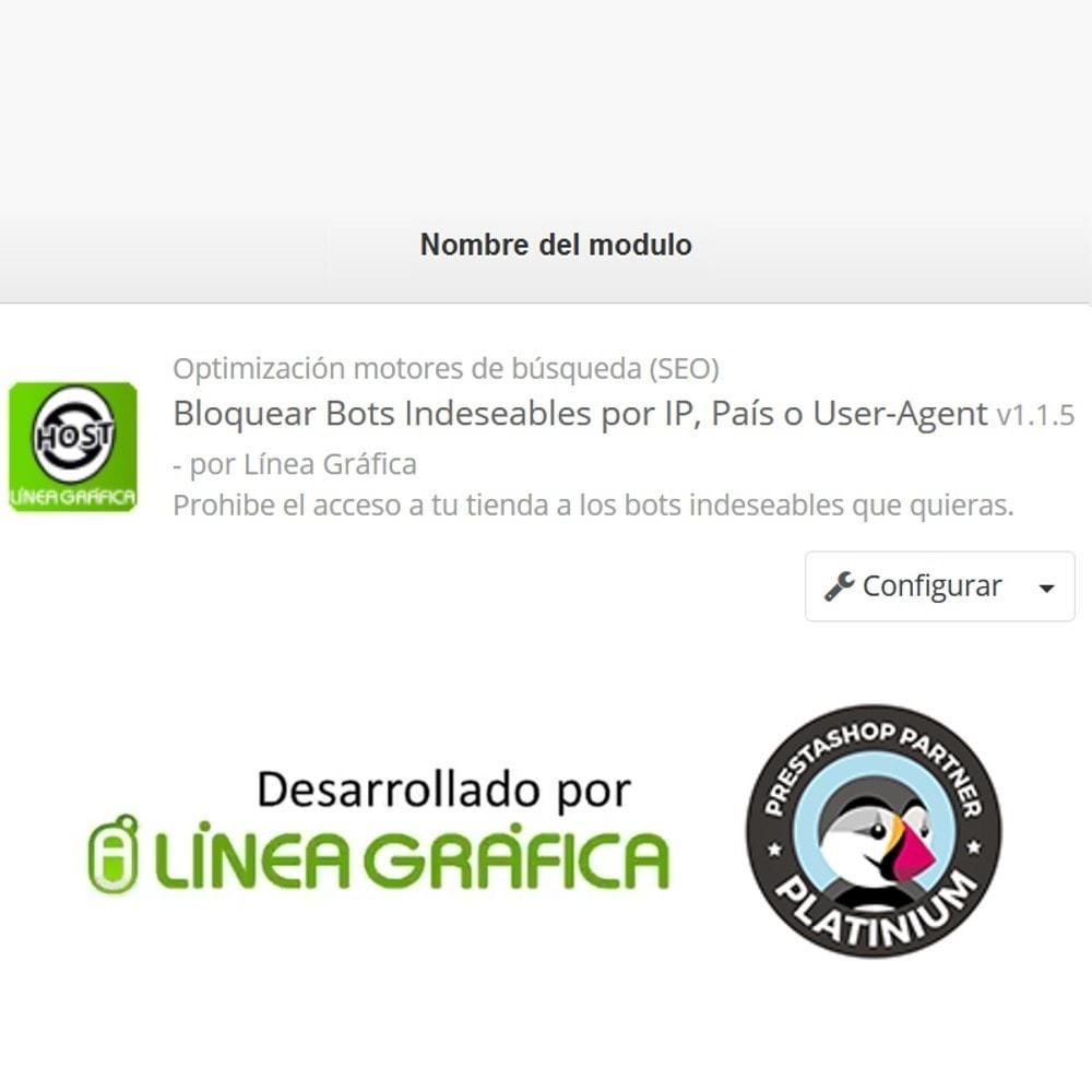 module - Seguridad y Accesos - Bloquear Bots / Usuarios por IP, País o User-Agent - 6