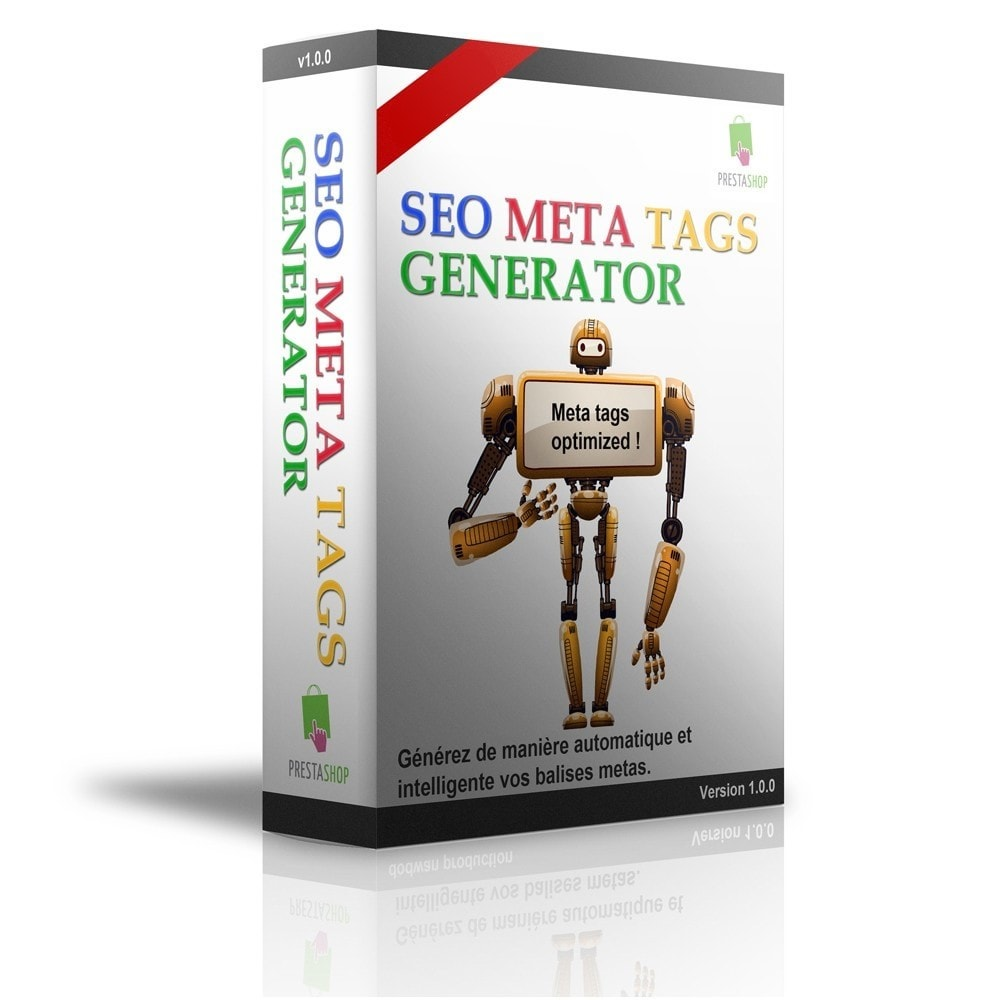 module - SEO (natural Search Engine Optimization) - SEO Meta Tags Generator - 1