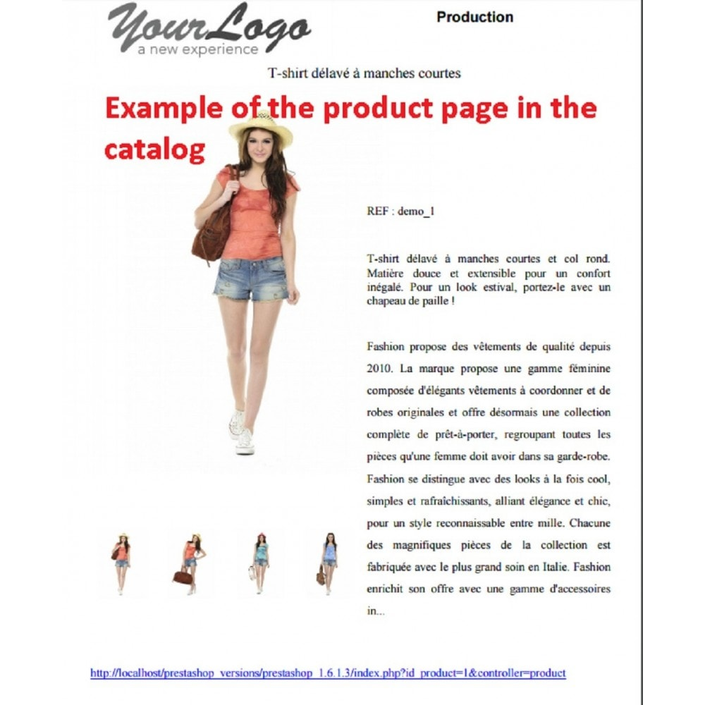 module - Importación y Exportación de datos - SIMPLE PDF CATALOG CREATOR - 2