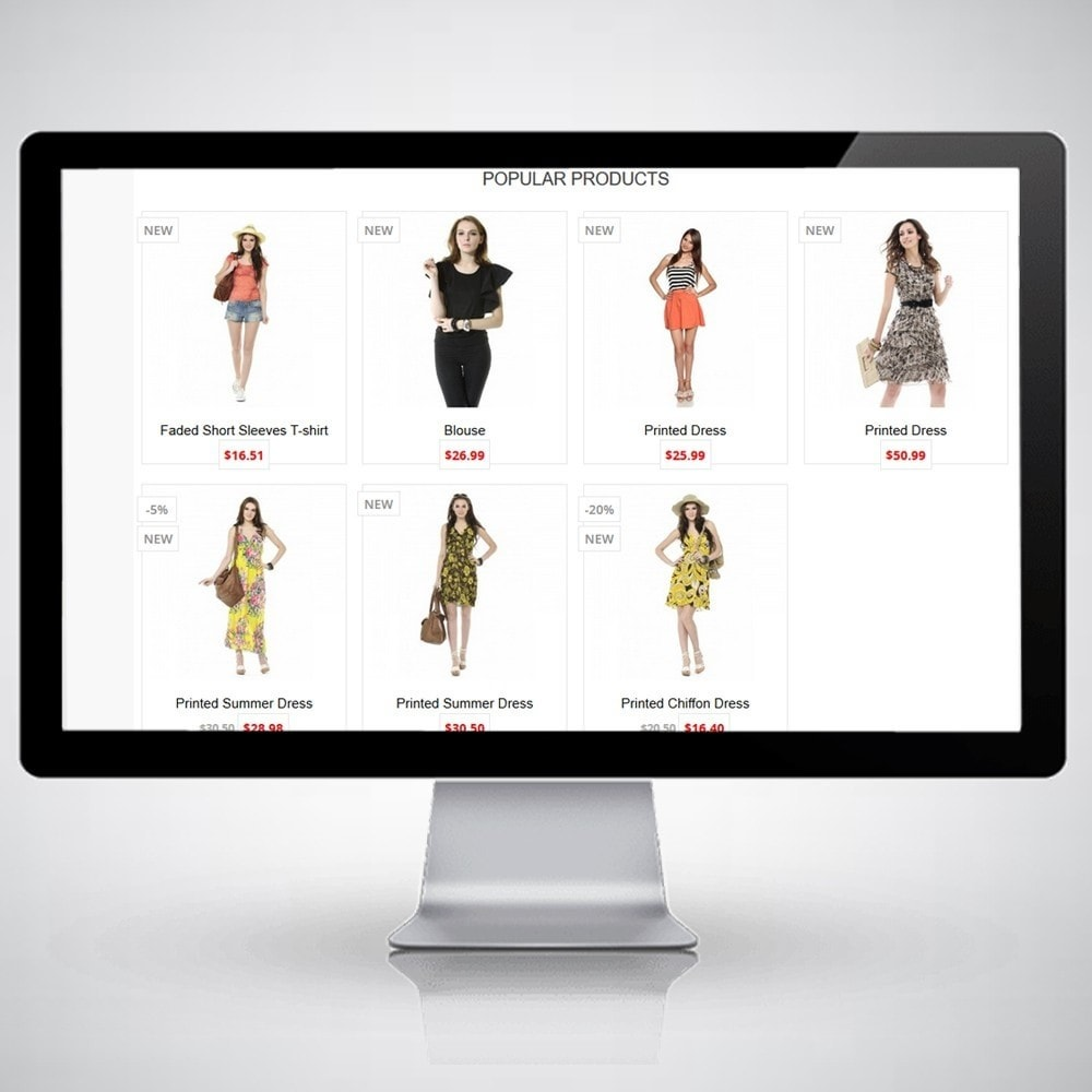 theme - Moda & Calzature - ClassicRed - Fashion Store - 1