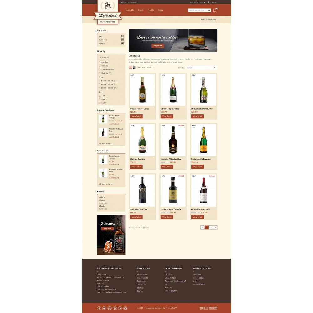 theme - Bebidas y Tabaco - My Cocktail Online Store - 3