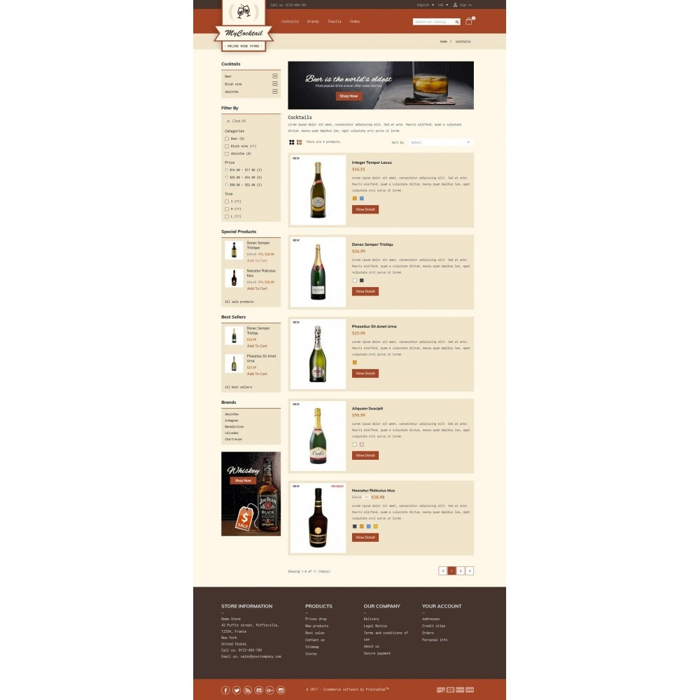 theme - Bebidas y Tabaco - My Cocktail Online Store - 4