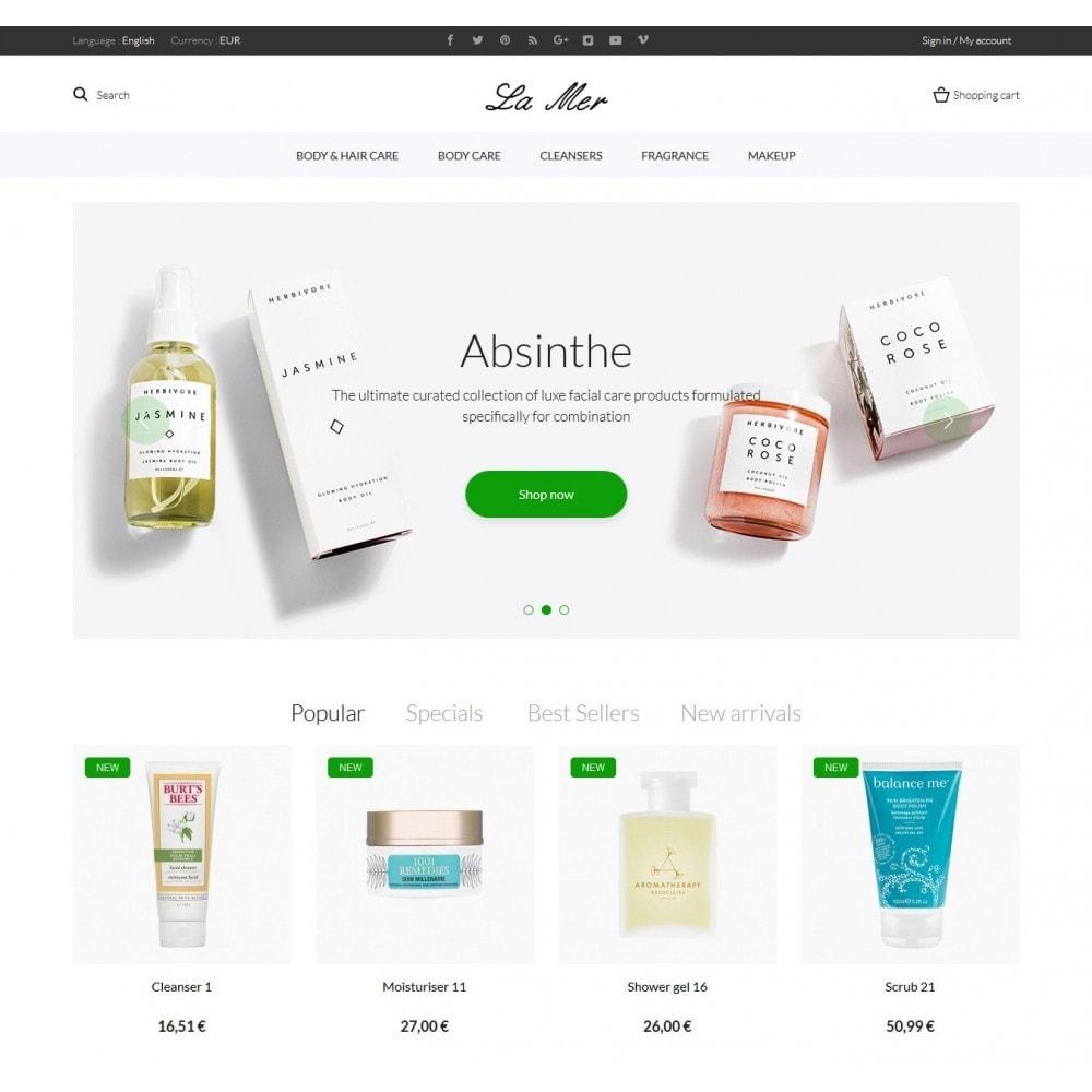 theme - Zdrowie & Uroda - La Mer Cosmetics - 2