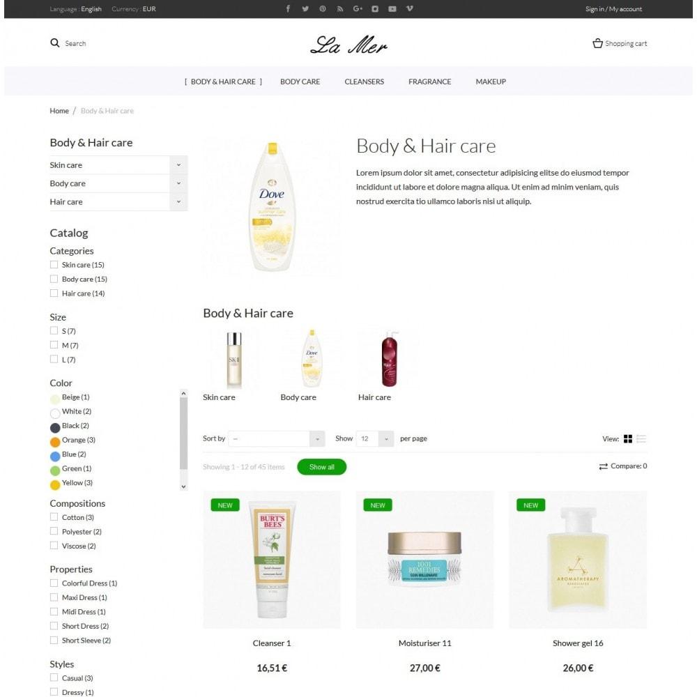 theme - Zdrowie & Uroda - La Mer Cosmetics - 5