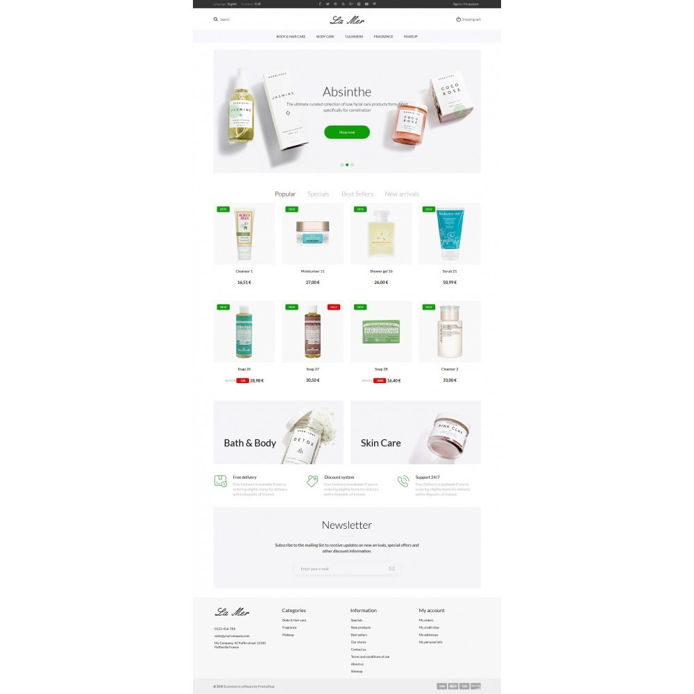 theme - Gesundheit & Schönheit - La Mer Cosmetics - 9