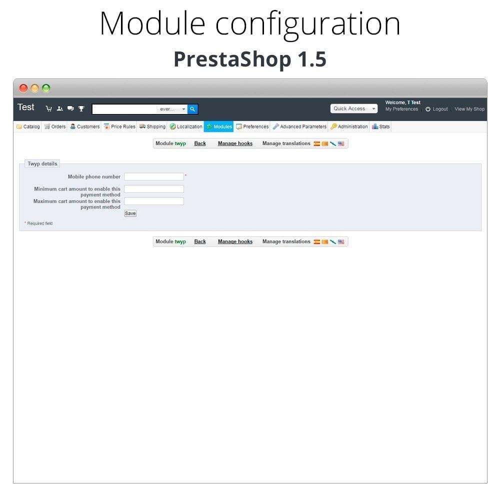 module - Inne środki płatności - Twyp - Mobile payment - 12