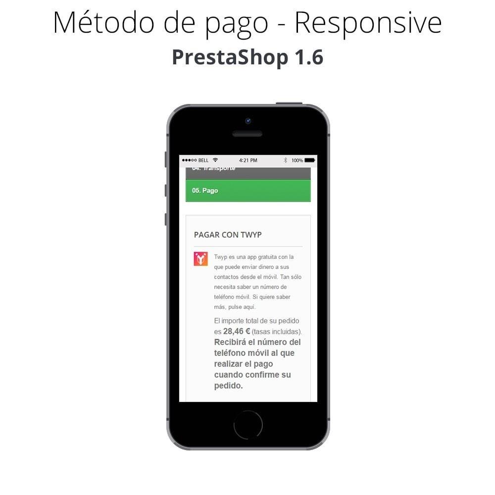 module - Otros métodos de pago - Twyp - Pago con el móvil - 11