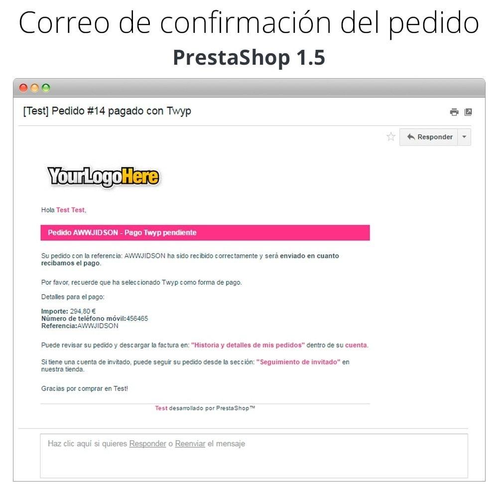 module - Otros métodos de pago - Twyp - Pago con el móvil - 15