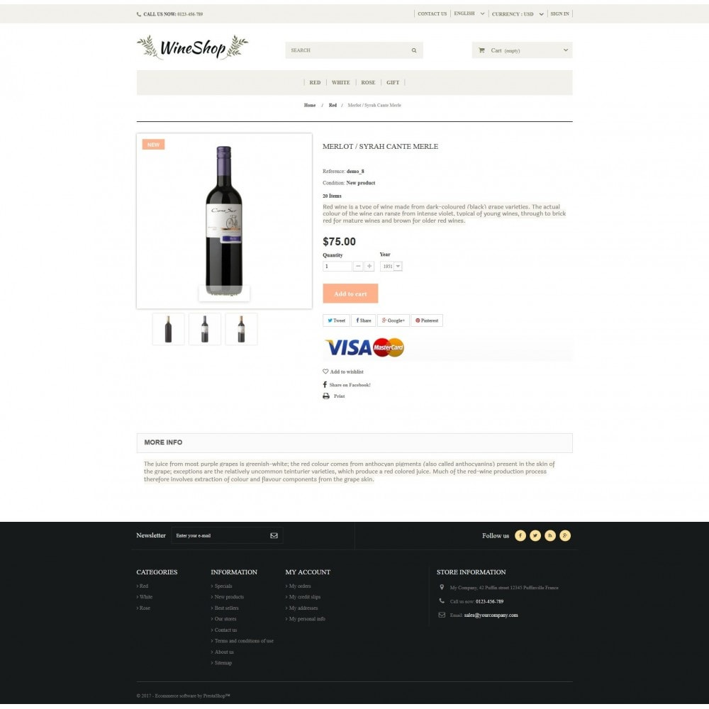 theme - Drink & Wine - WineShop - 4