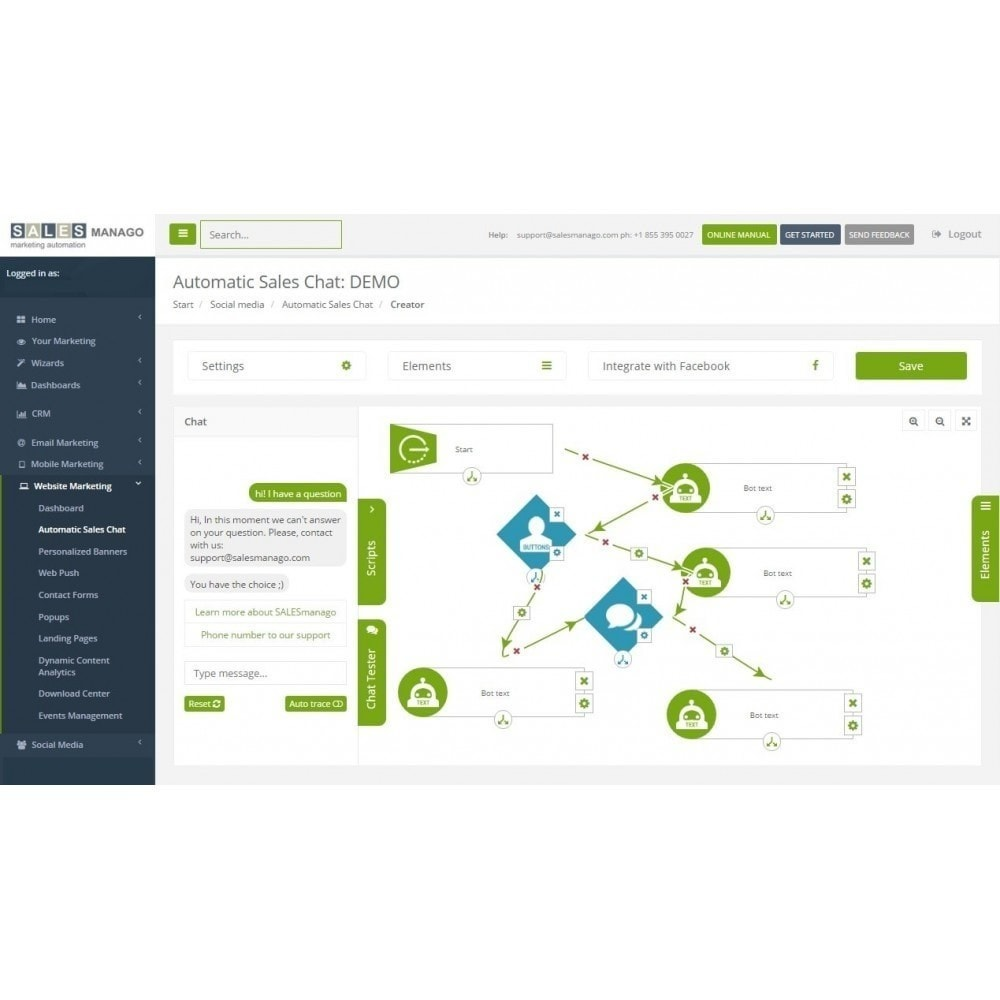 module - Remarketing y Carritos abandonados - SALESmanago Marketing Automation para eCommerce - 3