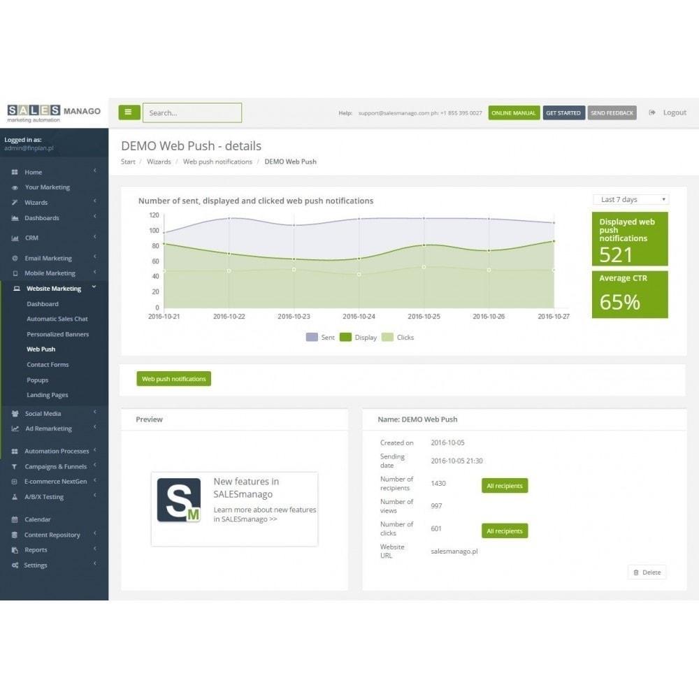 module - Remarketing & Warenkorbabbrüche - SALESmanago Marketing Automatisierung für E-commerce - 9