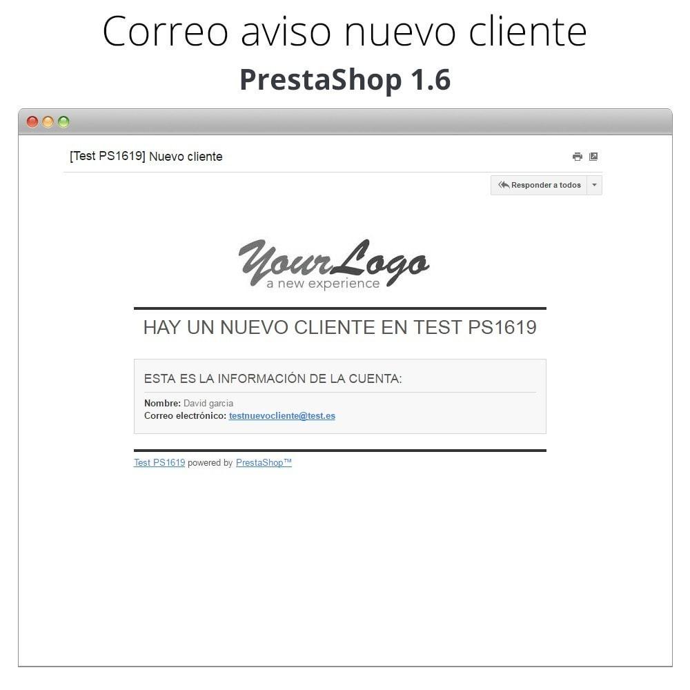 module - E-mails y Notificaciones - Recibe correo electrónico cuando un cliente se registra - 5