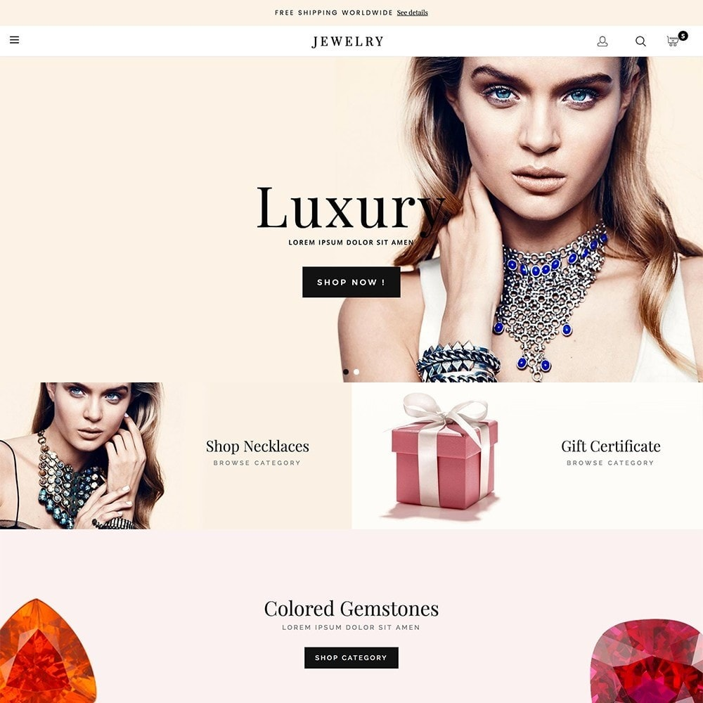 theme - Jewelry & Accessories - Luxury Jewelry - 1