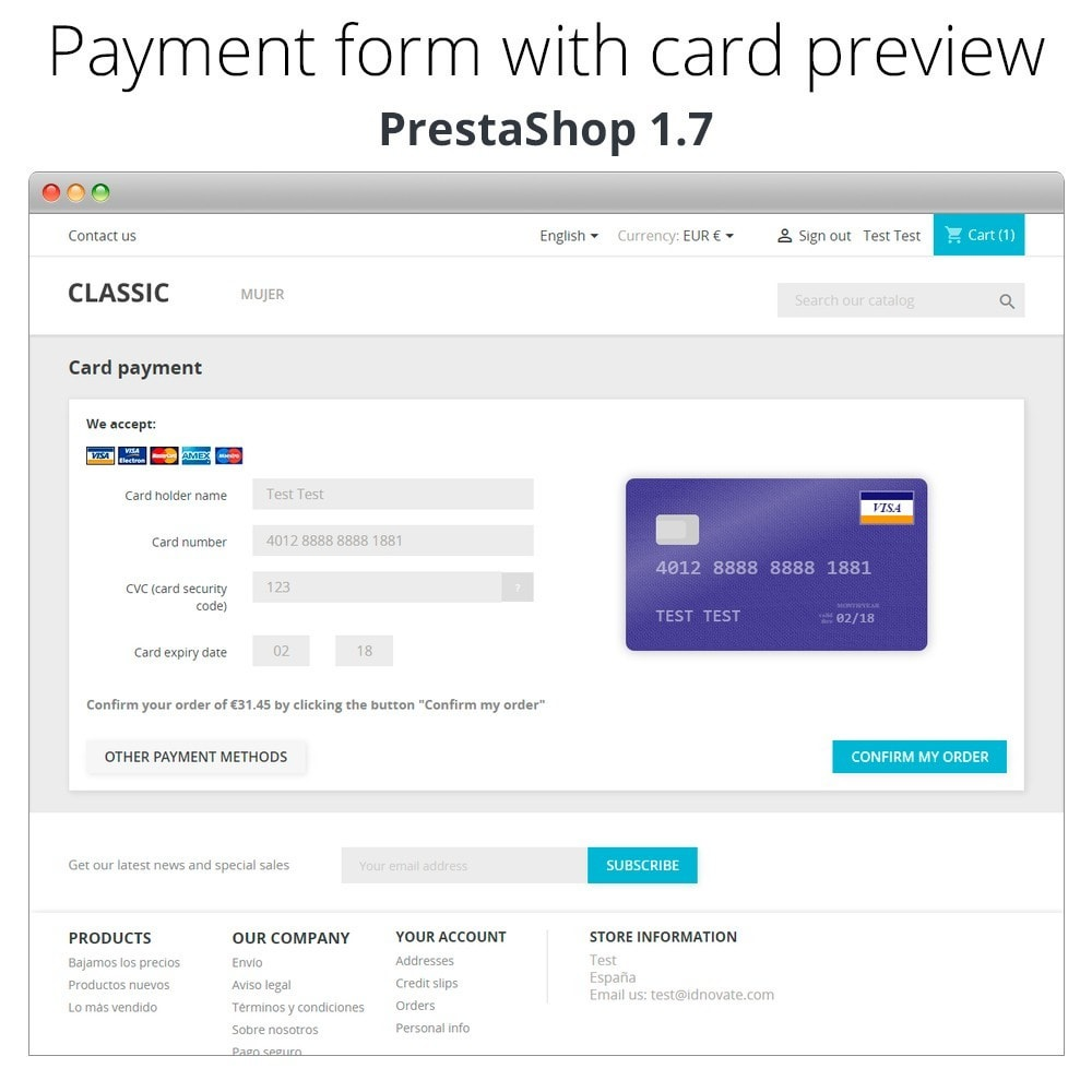 module - Kassensystem (POS) - Manual Credit Card Processing - Offline payment - 8